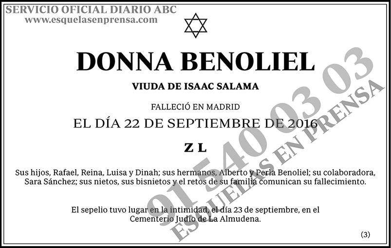 Donna Benoliel